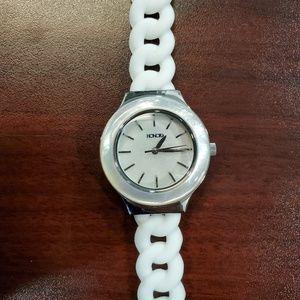 Honora 32mm White Rubber Womens Watch